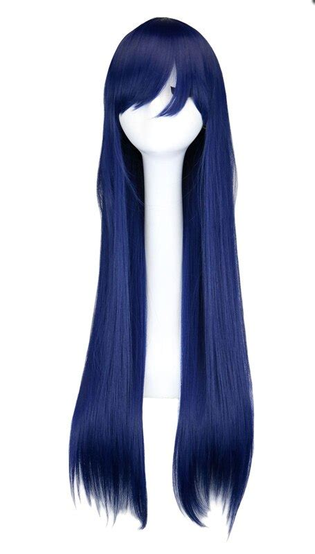 Cosplay Wigs For Love Live Sonoda Umi Anime Mixed Blue