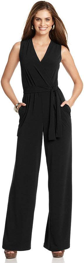 Sleeveless Wide Leg Jumpsuit | Ny collection Wraps and 45 years