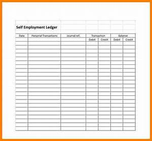 Microsoft Excel Home Budget Template 8 Personal Ledger Template Ledger Review