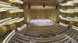 An aerial view of the Moss Arts Center - Virginia Tech ...