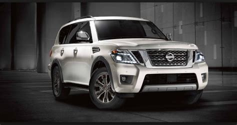 nissan armada  preview  gross vehicle