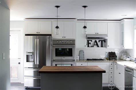 Small White Kitchens With White Appliances