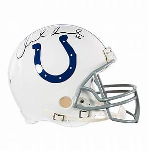 Andrew Luck Signed Full-Size Indianapolis Colts Helmet ...