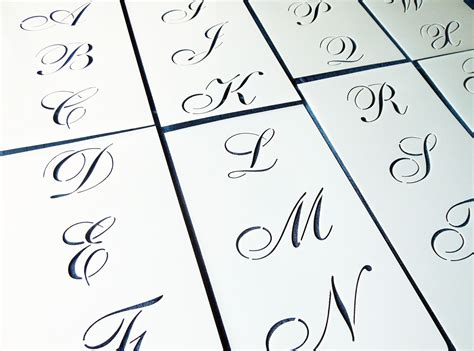 lettering template my cookie clinic monogram cookies stencils