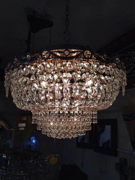 lustre plafonnier  lumieres cristal egypte meubles