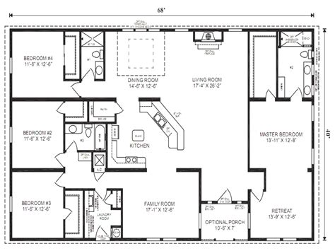 house plans 5 bedrooms 5 bedroom modular homesthe 5 bedroom ranch style house