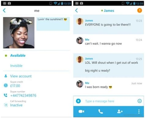 skype app for android skype for android goes flatter cleaner with metro