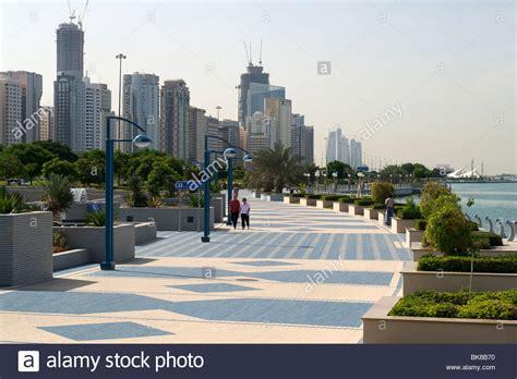 Corniche Abu Dhabi The Abu Dhabi Corniche Stock Photo 29073268 Alamy