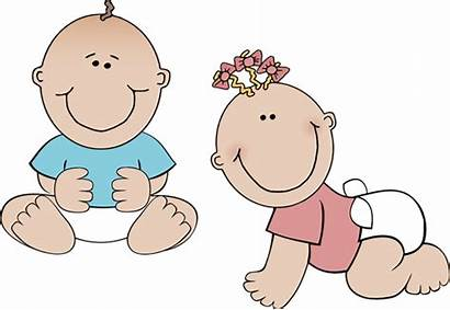 Twin Twins Clip Clipart Babies Playing Shower