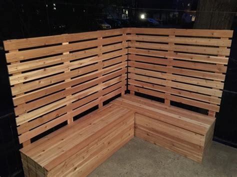 construire une banquette en bois