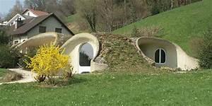 Maison Semi Enterrée : d couvrez la maison bioclimatique enterr e 10 000 euros ~ Voncanada.com Idées de Décoration