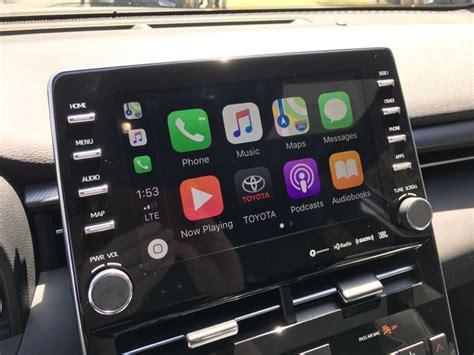 Toyota Brings Carplay, Apple Watch Support, Qi Charging