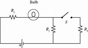 a light bulb is connected in the circuit shown cheggcom With circuit light bulb