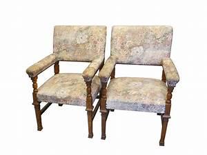 Antike Stühle Um 1900 : 2 antike armlehnst hle um 1900 aus eiche sitzm bel st hle stuhlgruppen ~ Markanthonyermac.com Haus und Dekorationen