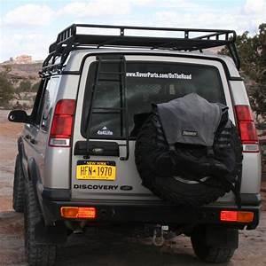 Heavy Duty Steel Rear Bumper  Da5646  For Land Rover Discovery 2
