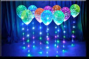 led sparkle ribbon fantastic party decoration used with balloons