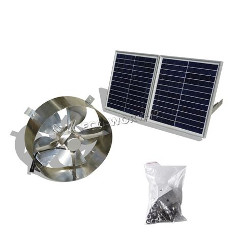 vent exhaust fan to attic solar power roof fans bing images