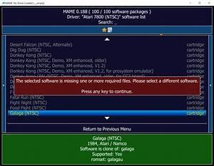 A7800 - The Atari 7800 Emulator - Atari 7800