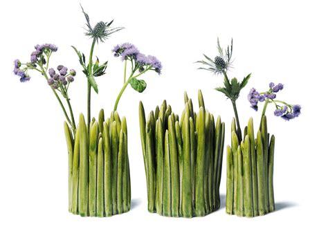 grass vase grass vase large green by normann copenhagen