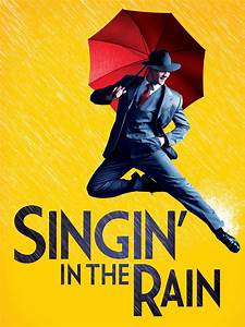 Singin' in the Rain | Poster Design | Pinterest | Splash ...