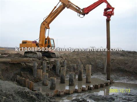 pile driver dpd tilting clamp type series buy