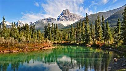 Nature Mountain Rocky Landscape Mountains Forest Lake