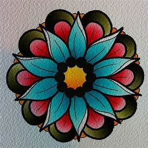 Tattoo flash flower | tattoos | Pinterest