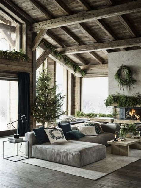 living room   chic nature style