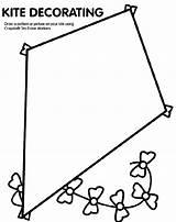 Coloring Kite Crayola sketch template