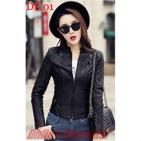 model jaket kulit wanita korea holidays oo