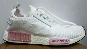 Tênis Adidas Nmd Runner Boost Feminino Rosa E Branco MWgrifes Aqui é Top!