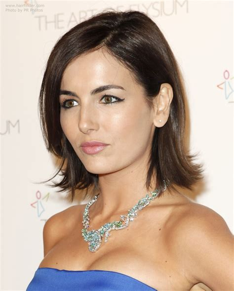 camilla belle young  fresh medium length hairstyle