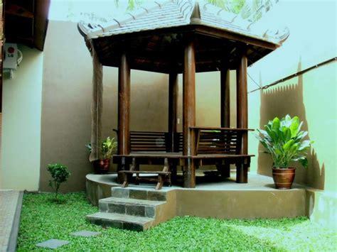 saung modern  taman rumah blog