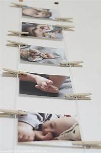 Mur De Photos : diy comment afficher des photos au mur sans cadre ~ Melissatoandfro.com Idées de Décoration