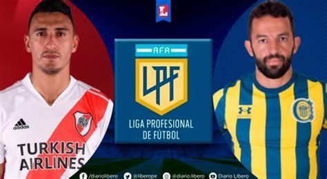 River Plate vs Rosario Central EN VIVO Horarios TV y donde ...