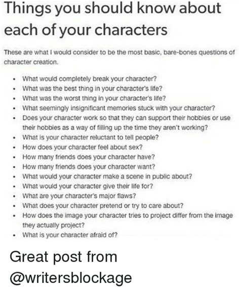 25 Best Memes About Character Creations Character
