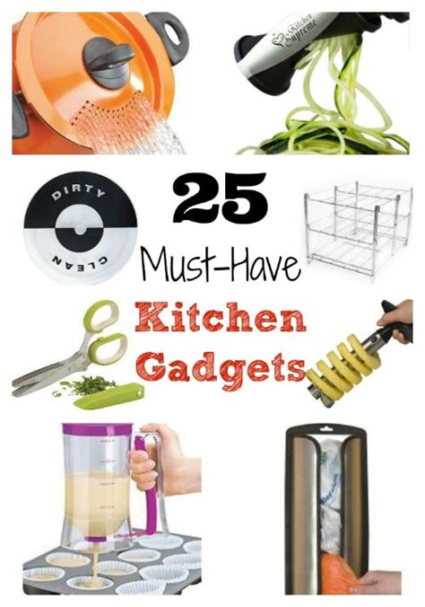 25 Musthave Kitchen Gadgets