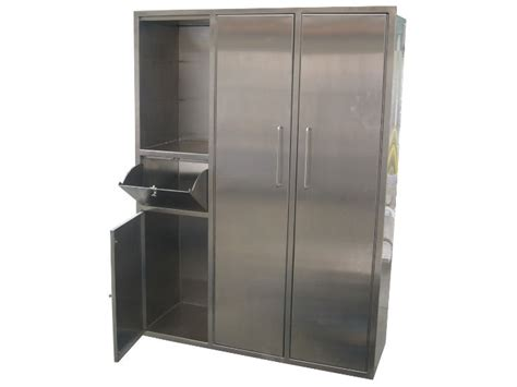 recessed gowning cabinets