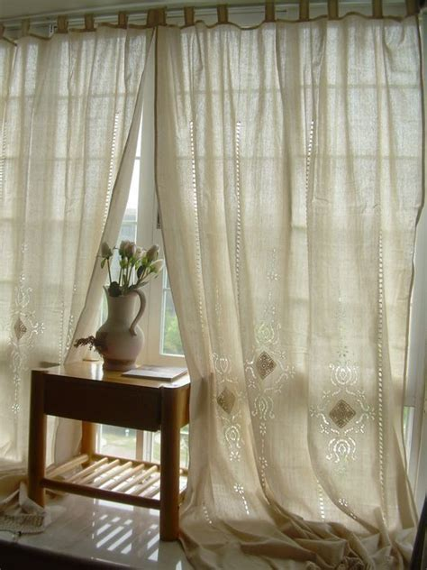 cotton linen french country  linens  pinterest