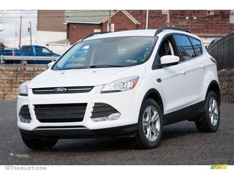 2016 Ford Escape Se by 2016 Oxford White Ford Escape Se 4wd 109995348 Gtcarlot