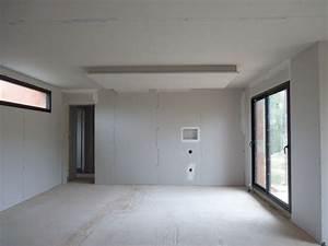 Faux Plafond Placo : cuisine fascinante faux plafond placo salon faux plafond ~ Melissatoandfro.com Idées de Décoration