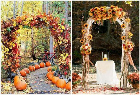 Wedding Ideas For Fall : 21 Incredibly Amazing Fall Wedding Decoration Ideas