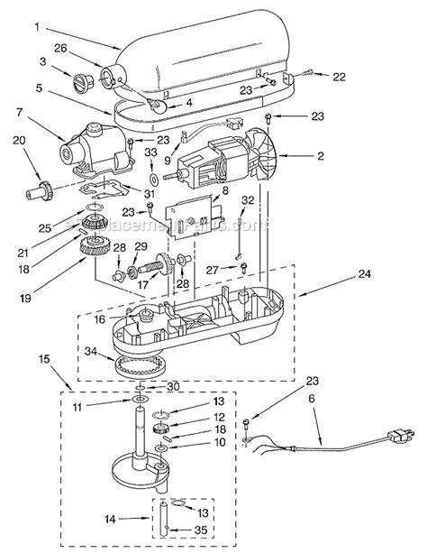 kitchenaid  qt stand mixer kbgx ereplacementpartscom