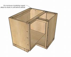 Build Corner Kitchen Cabinet Plans