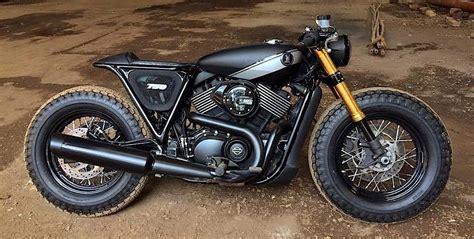 Hd Street 750 Brat Build By Rajputana Custom Motorcycles