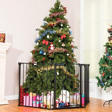 christmas tree fence for dogs ubesgoo fireplace fence baby safety fence hearth gate bbq metal gate pet cat