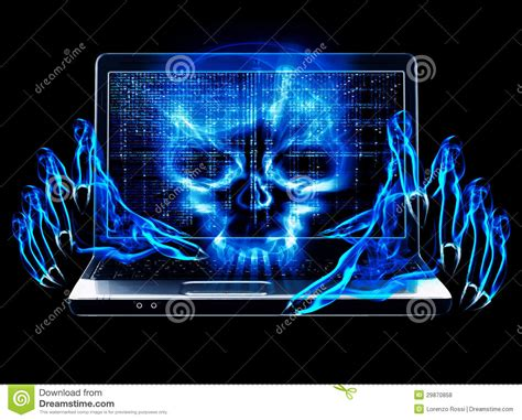 hacker attack concept royalty  stock  image