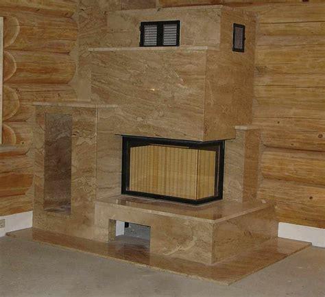 Schornstein Fliesen Kamin Naturstein Kaminverkleidung Verkleidung Kamine