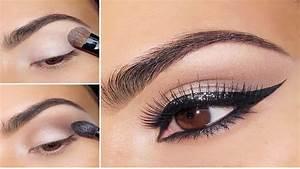 Maquillage Yeux Tuto : tutoriel maquillage yeux de biche youtube ~ Nature-et-papiers.com Idées de Décoration