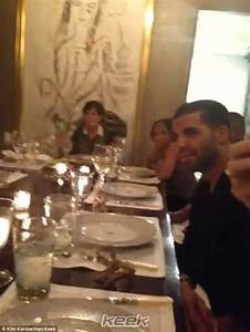 Kim tweets video of Kardashian meal featuring Kanye West ...